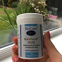 Tăng chất lượng tinh trùng hỗ trợ sinh sản cho nam giới Biocare Male Forte chính hãng Anh