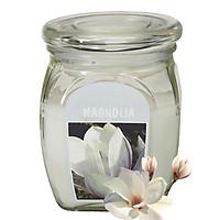Hũ nến thơm tinh dầu Bolsius Magnolia 305g QT024368 - hoa mộc lan