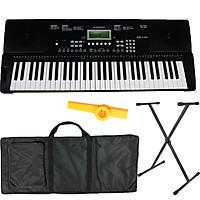 Bộ Đàn Organ Kurtzman K200 (Bàn Phím cảm ứng lực, Có Pitch Bend - KZM Touch Response Keyboard - Đàn, Chân, Bao, Nguồn, Kèn Kazoo)
