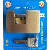 Ổ khóa cầu ngang đồng Việt Tiêp - 05207 cao cấp, cực kì chắc chắn