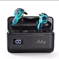 Tai Nghe Bluetooth 5.0 UMini Aminy Version 2 Dung Lượng 2600mAh, Có đèn LED hiển thị Pin - Hàng Chính Hãng