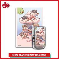 Decal Trang Trí Máy Tính Casio / Vinacal Fan Got7 010
