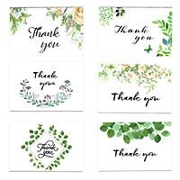 combo 6 bộ thiệp phong cách Floral & Green