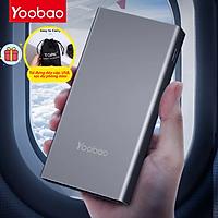 (Hàng chính hãng) Pin sạc dự phòng Yoobao 99Wh 26800mAh thiết kế vỏ nhôm nguyên khối hỗ trợ sạc nhanh PD 45W, QC 3.0 cho điện thoại laptop, Macbook. Thích hợp cho các chuyến đi du lịch, công tác xa,....