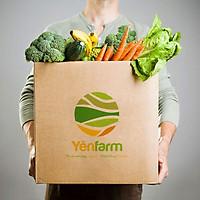[CHỈ GIAO HCM] Combo 4 loại rau thuỷ canh - 4kg - Tặng kèm combo chanh sả gừng 1kg