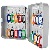 Tủ treo chìa khóa Barska 20- Position Key (20 chỗ móc chìa) - Hàng chính hãng