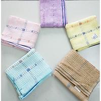 Bộ 5 khăn mặt sợi tre cao cấp siêu mềm mịn, kháng khuẩn kích thước 30x50cm (Giao nhiều màu)