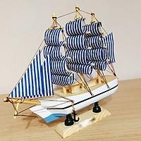Mô hình thuyền gỗ 20cm