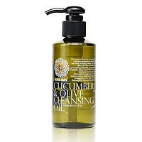 Dầu Tẩy Trang từ Chiết Xuất Olive và Dưa Chuột - Cucumber & Olive Cleansing Oil