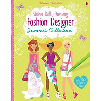 Usborne Sticker Dolly Dressing: Fashion Designer Summer Collection