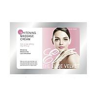 Kem massage làm trắng da mặt và body - The elise velvet Whitening Massage cream 50gr