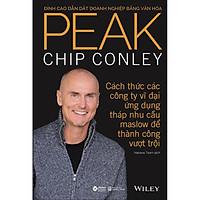 Sách - Peak Đỉnh Cao Dẫn Dắt Doanh Nghiệp Bằng Văn Hóa