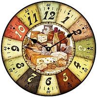 Đồng hồ treo tường phong cách cổ MS 48