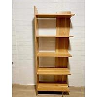 Kệ Sách 5 tầng bằng gỗ đa năng, Kệ gỗ trang trí nhà cửa, kệ sách gỗ để đồ đa năng thiết kế hiện đại