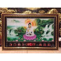 Tranh đồng hồ điện vạn niên , Phật bà - 68651