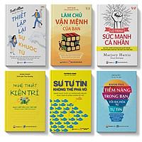 Sách - COMBO 6C: Thiết lập khước từ, Làm chủ vận mệnh, Lộ trình sức mạnh, NT kiên trì, Sự tự tin , Khám phá tiềm năng