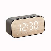 Loa Bluetooth - Kiêm đồng hồ báo thức