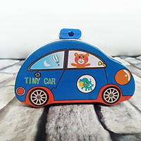 Ống Tiết Kiệm Bằng Sắt Mini Hình Tini Car
