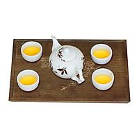 Khay trà gỗ - Khay trà Nhatvywood NVWT03