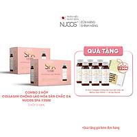 Combo 2 Hộp Collagen nước xóa nhăn ngăn lão hóa da Nucos Spa 13500 2x10Chaix50ml