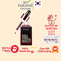 Red Peel Tingle Serum Premium 20ML Tinh Chất Tái Tạo Da Sinh Học  So Natural Chính Hãng Hàn Quốc [Mẫu Mới 2021]