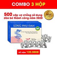COMBO 3 HỘP LONG PHỤ ĐAN BỔ DƯƠNG, CẢI THIỆN TINH TRÙNG