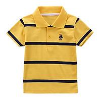 Hot Summer High Quality Children Boys And Girls Striped Short Sleeve Cotton T Shirt  2- 6 T Kids Clothing