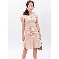 Váy đầm chữ a thời trang Eden dáng đuôi cá, lệch vai nữ tính. Chất liệu vải mềm mại, không nhăn. Có nhiều size dễ chọn lựa - D394