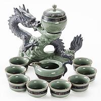 Bộ bình trà Rồng phong thủy cơ chế bán tự động.