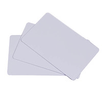 [ Set 50 thẻ] Phôi thẻ nhựa PVC trắng - Hàng nhập khẩu
