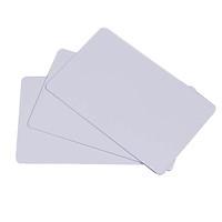 [ Set 100 thẻ] Phôi thẻ nhựa PVC trắng - Hàng nhập khẩu