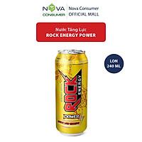 Nước tăng lực Rock Energy Power chứa Sâm Ngọc Linh 240ml