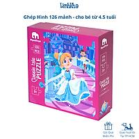 Ghép Hình 126 Mảnh Chủ Đề Lọ Lem Cinderella Cho Bé Từ 4.5 Tuổi - MyndToys