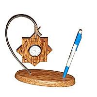 Đồng hồ để bàn gỗ dừa