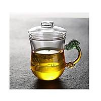 Cốc pha trà thủy tinh zeno CLL04 - 350ml