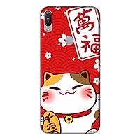 Ốp lưng điện thoại Asus Zenfone Max Pro M1 hình Mèo May Mắn Mẫu 4