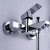 Cần điều khiển sen tắm nóng lạnh GM Italia - Hợp kim kiểu vuông