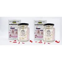 Hai hộp mặt nạ yến collagen hoa hồng