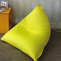 Ghế lười kim tự tháp S Micro Vàng HomeDream - KTTS-HOMEDREAM-VT