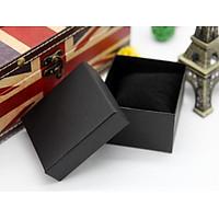 Set 3 hộp đựng đồng hồ sắc màu đen đỏ HD11