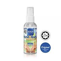 Nước rửa tay khô Bioion Hand&Body 60ML không cồn