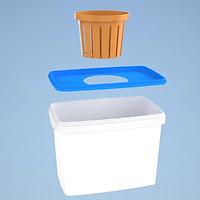 Thùng thủy canh tĩnh trồng CỦ QUẢ (10 thùng)