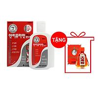 Dầu nóng Xoa Bóp Massage Hàn Quốc Antiphlamine 100ml - Tặng 1 chai dầu ông già Thái Lan Siang Pure Oil 7ml