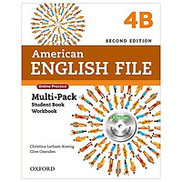 American English File 4B Multi-Pack with Online Practice and iChecker