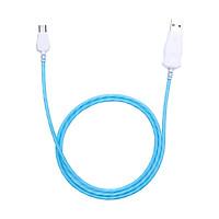 Dây Cáp Sạc Và Truyền Dữ Liệu Phát Sáng Micro USB dài 1m hỗ trợ sạc nhanh