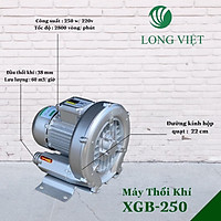 Máy Thổi Khí Con Sò Long Việt XGB-250w-220v