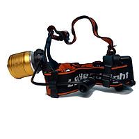Đèn pin đội đầu có zoom L3 sử dụng Led XPE-R5 có độ sáng cao gọn nhẹ tiện lợi