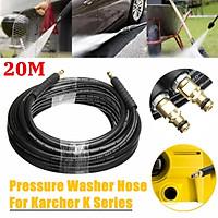 """20M I.D 1/4"""" Pressure Washer Hose For KARCHER K Series Pressure Washer Quick"""