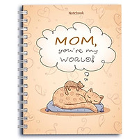 Sổ Lò Xo Notebook - Mom you're my World! - GĐTY-07