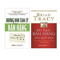 Nghệ Thuật Bán Hàng Đỉnh Cao Của Brian Tracy ( Những Đòn Tâm Lý Trong Bán Hàng + Kết Thúc Bán Hàng Đòn Quyết Định ) (Tặng Notebook tự thiết kế)